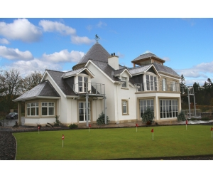 Private House extension Gleneagles Perthshire