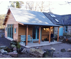 cottage extension Glen Muick Ballater FRONT IMAGE
